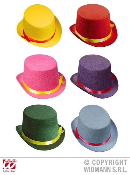 1x Boys Victorian Top Hat Felt Size 19th 20th Century Historic Fancy Dress