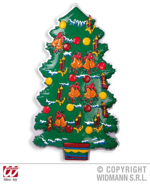 3D Christmas Tree 100cm Decoration Xmas Festive Seasonal Nativity Party