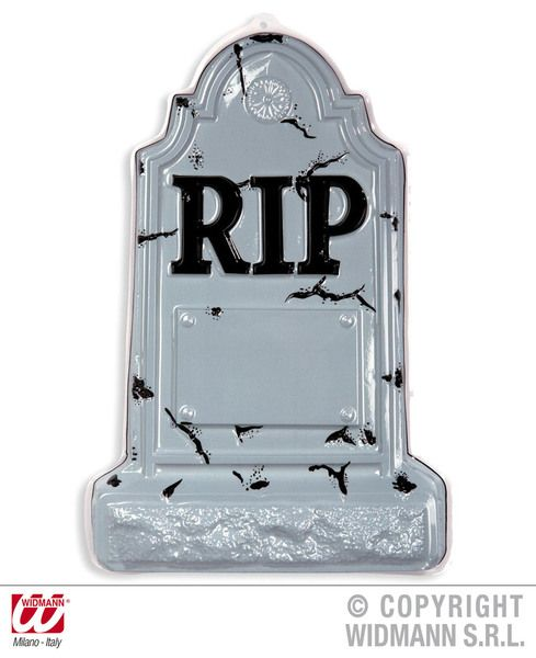 3D Tombstones 36X56cm Party Decoration Graveyard Crypt Halloween Trick Or Treat