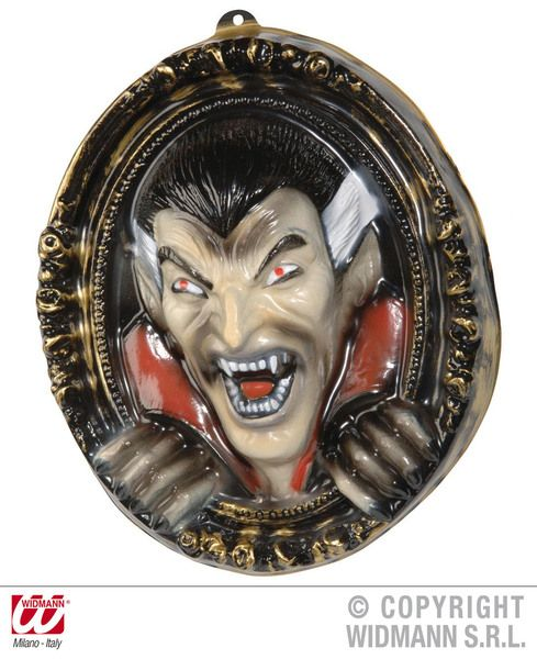 3D Vampire Pictures 37X43cm Decoration Halloween Dracula Vamp Party