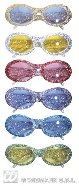 50s Glitter Fashion Glasses Rockabilly Rock N Roll 50s Cosmetics