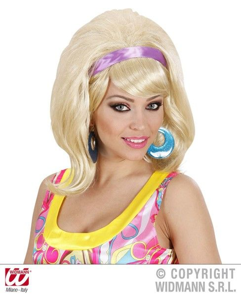 60s Mod Wig 60s Fancy Dress