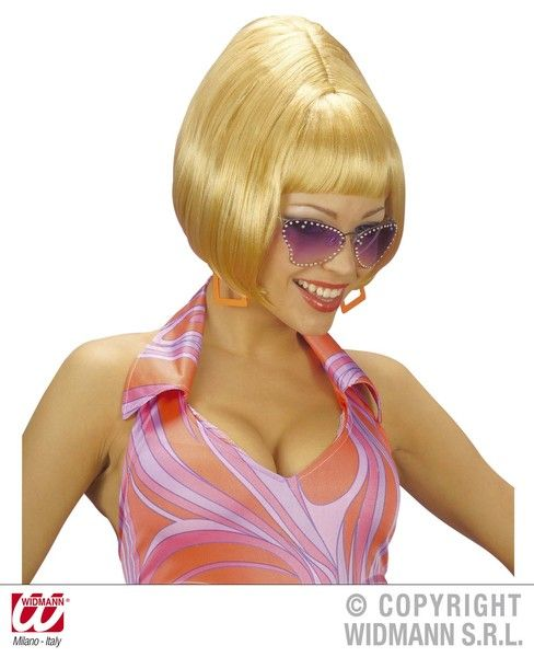 70s Wig 70s Fancy Dress