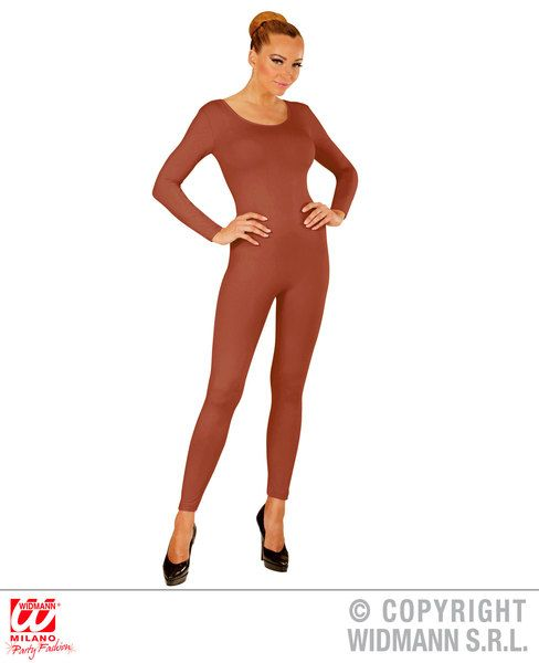 Adult Beige Bodysuit Leotard Bodysuit Fancy Dress