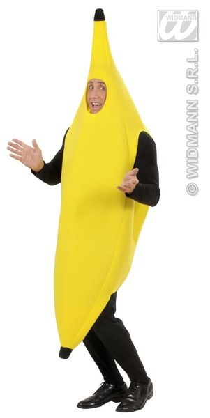 Adults Banana Costume Fancy Dress