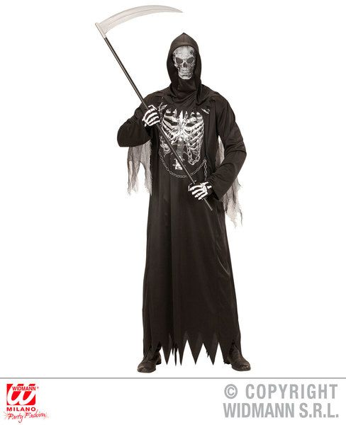 Adults Chain Reaper Costume Halloween Fancy Dress
