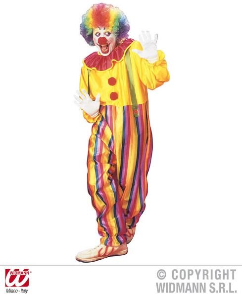 Adults Circus Clown Costume Circus Fancy Dress