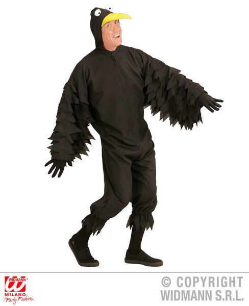 Adults Crow Costume Animal Fancy Dress