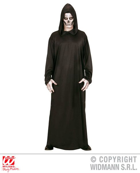 Adults Deathly Grim Reaper Costume Halloween Fancy Dress