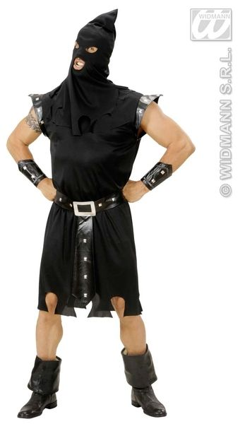 Adults Executioner Costume Halloween Fancy Dress