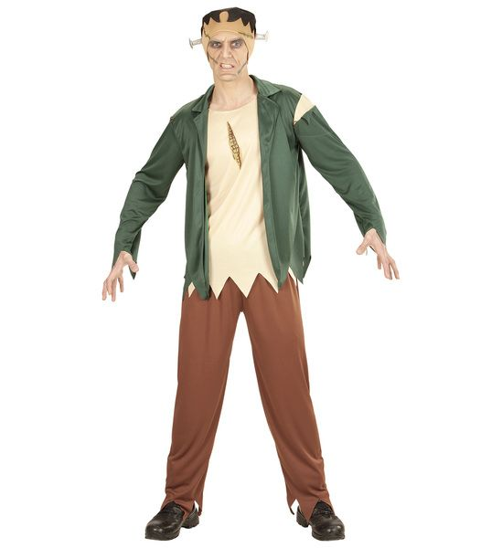 Adults Franken Costume Fancy Dress