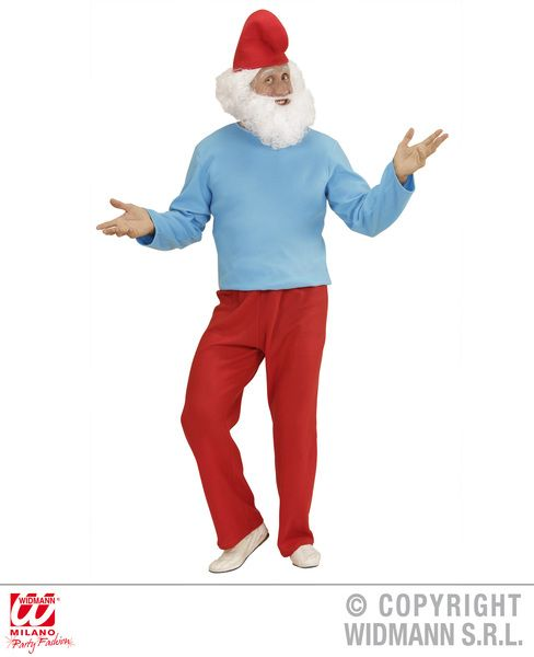 Adults Grand Gnome Costume Fancy Dress