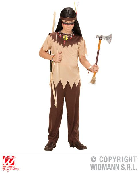 Adults Indian Costume Cowboy Wild West Fancy Dress