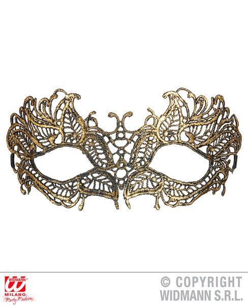 Antique Lace Eyemask Fancy Dress