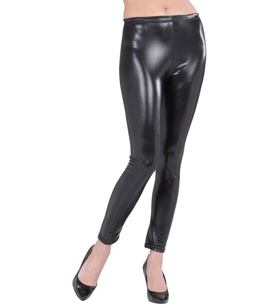 Black Leggings Fancy Dress Accessory