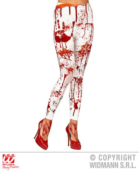 Bloody Leggings Halloween Fancy Dress Accessory