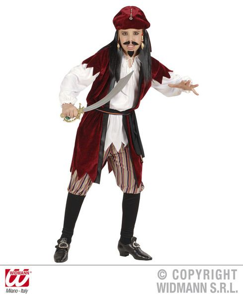 Boys Caribbean Pirate Boy Costume Pirate Fancy Dress