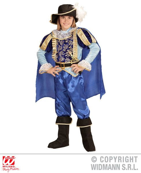 Boys Charming Prince Costume Fancy Dress