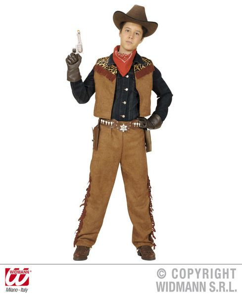 Boys Cowboy/ Indian Costume Cowboy Wild West Fancy Dress