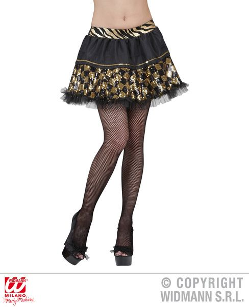 Chequered Sequin Tutu - Tutu Rara Skirt Fancy Dress