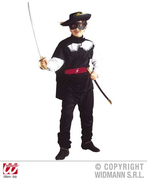 Childrens Bandit Costume Fancy Dress