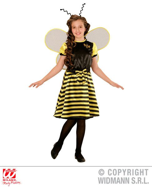 Childrens Bee Costume Animal Fancy Dress
