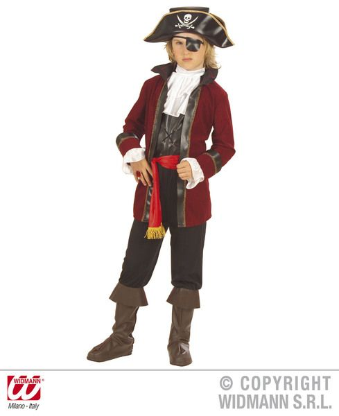 Childrens Booty Island Pirate Costume Pirate Fancy Dress