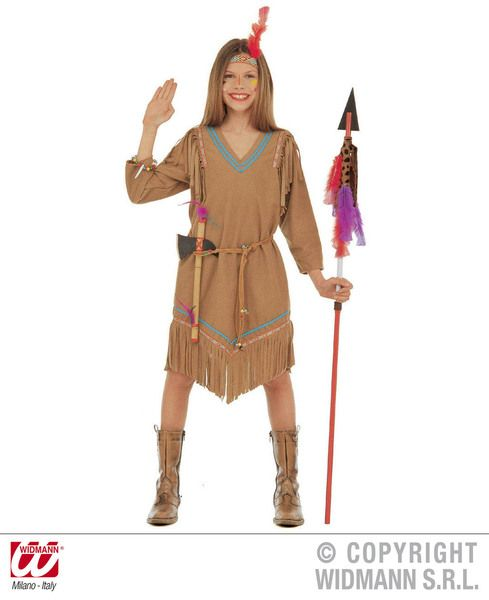 Childrens Cheyanne Costume Cowboy Wild West Fancy Dress
