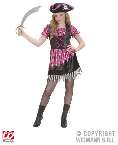 Childrens Fancy Buccaneer Costume Pirate Fancy Dress