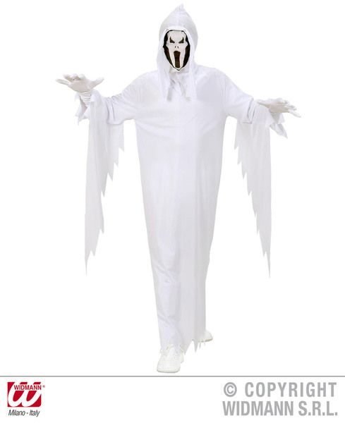 Childrens Ghost Costume Halloween Fancy Dress
