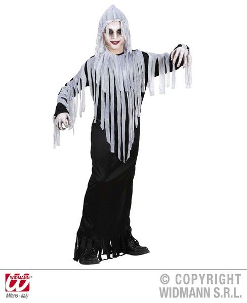 Childrens Ghoul Costume Halloween Fancy Dress