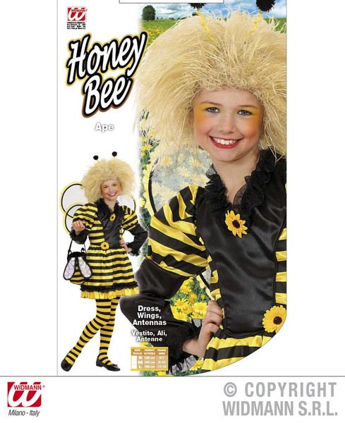 Childrens Honey Bee Costume Animal Fancy Dress
