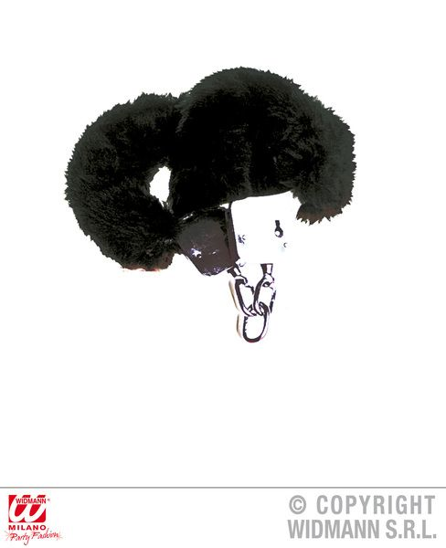 Furry Handcuffs Hen Stag Fancy Dress Accessory