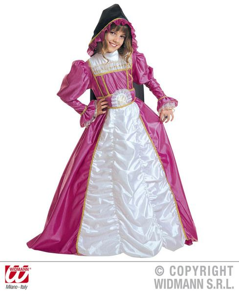 Girls Duchess Of York Costume Fancy Dress