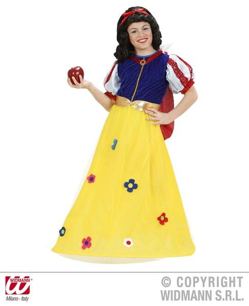 Girls Fairytale Princess Costume World Book Day Fancy Dress
