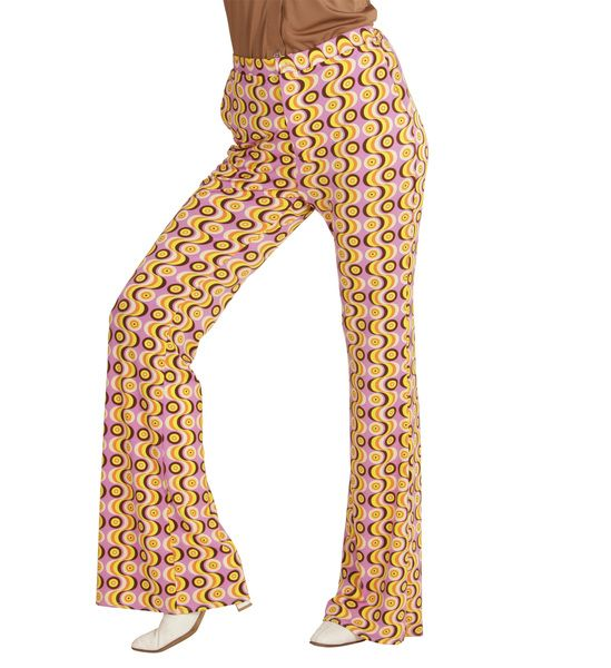 Groovy 70s Lady Pants - Discs Top 70s Fancy Dress