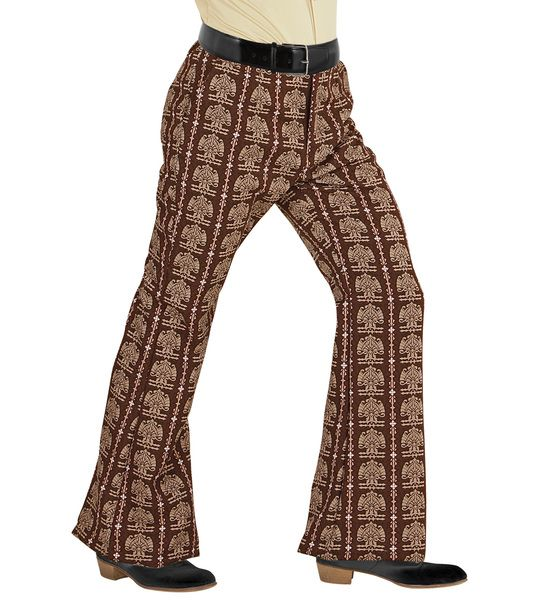 Groovy 70s Man Pants - Old School Trouser Pants 70s Fancy Dress
