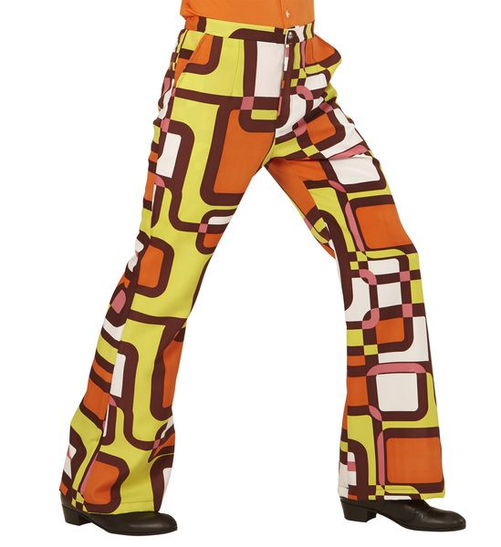 Groovy 70s Man Pants - Tubes Trouser Pants 70s Fancy Dress