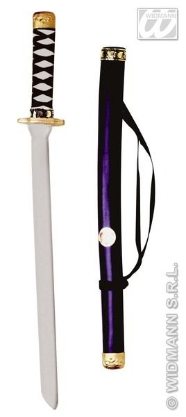 Japanese Katana with Scabbard Weapon Novelty Plastic Toy Ninja