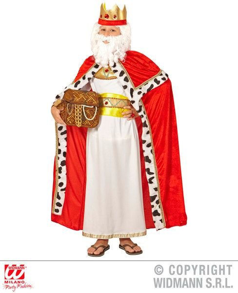 King Cape Christmas Fancy Dress Accessory