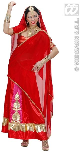 Ladies Bollywood Diva Costume Fancy Dress