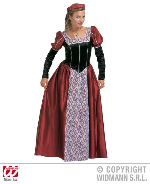 Ladies Castle Beauty Costume Fancy Dress