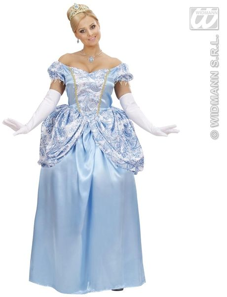 Ladies Charming Princess Costume Fancy Dress