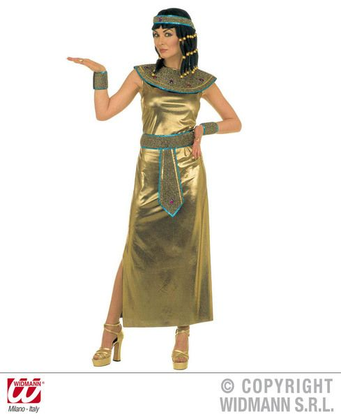 Ladies Cleopatra Deluxe Costume Egyptian Fancy Dress