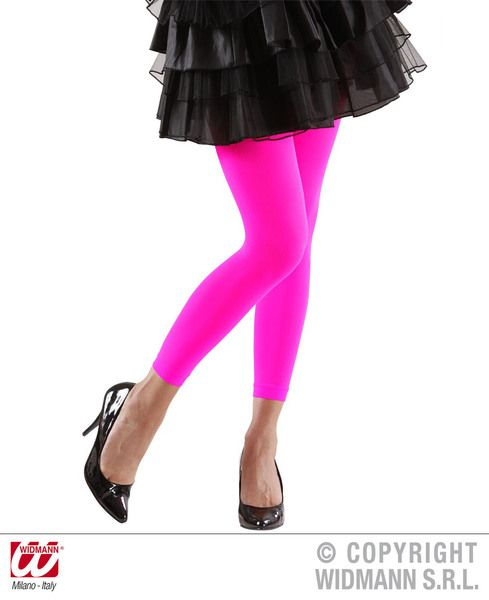 Leggings Neon - Stockings Tights Pantyhose Lingerie Fancy Dress