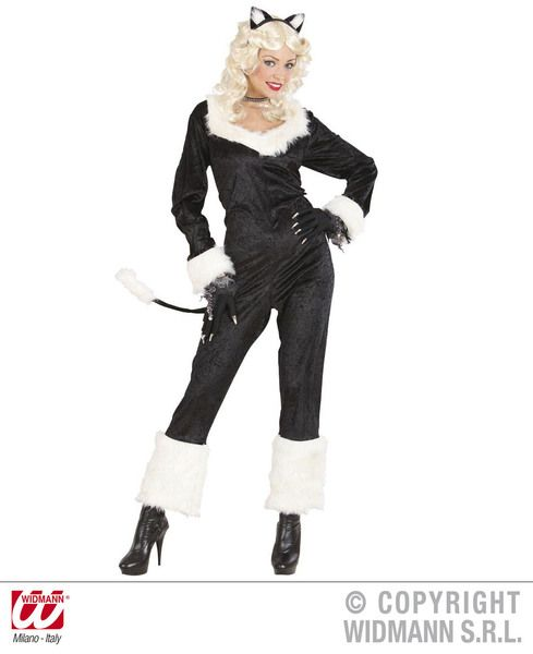 Mens Catwoman Costume Animal Fancy Dress