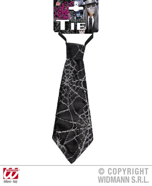 Spiderweb Ties Necktie Halloween Fancy Dress