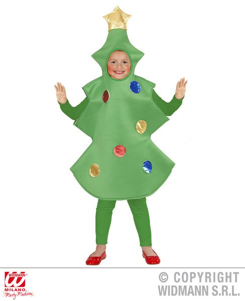 Toddler Christmas Tree Child Costume Christmas Fancy Dress