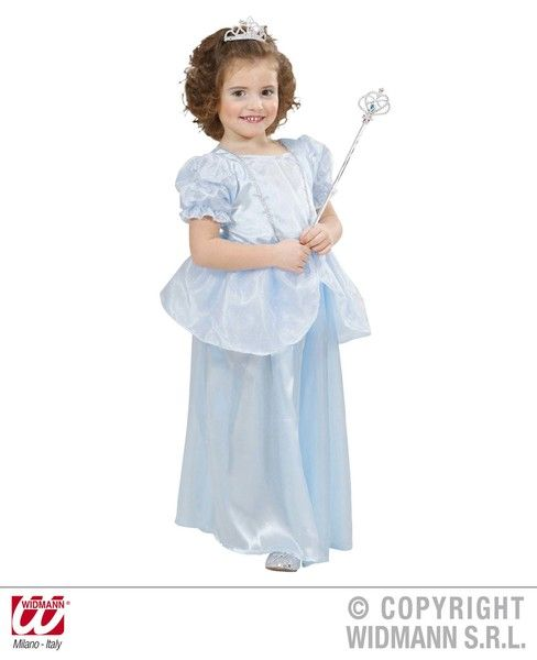 Toddler Princess - Light Blue Costume Fancy Dress