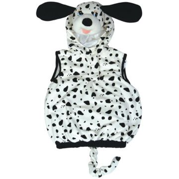 Adult Dalmation Costume for Animals Bugs Creatures Fancy Dress Mens Ladies